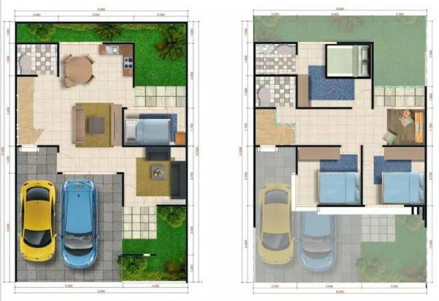 Denah Ummi Residence Bogor
