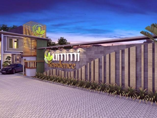 Gate of Ummi Residence Bogor