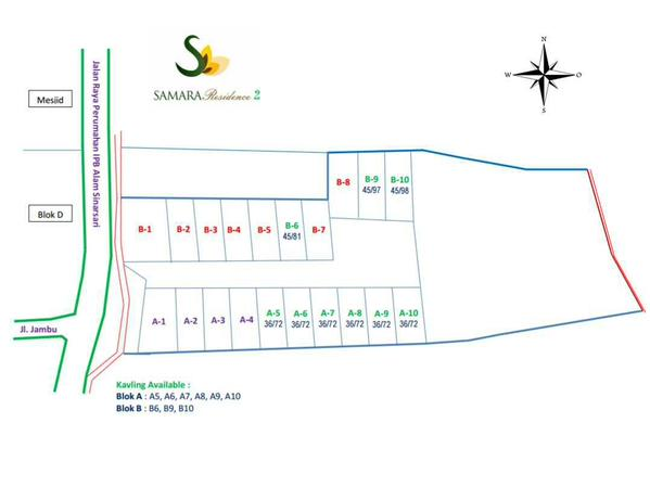 Kavling Available - Samara Residence 2