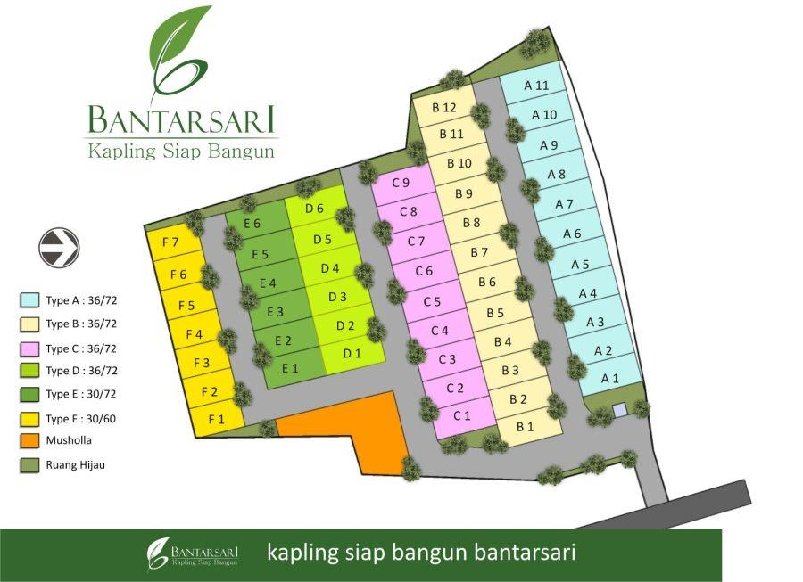Perluasan Siteplan Bantarsari Residence