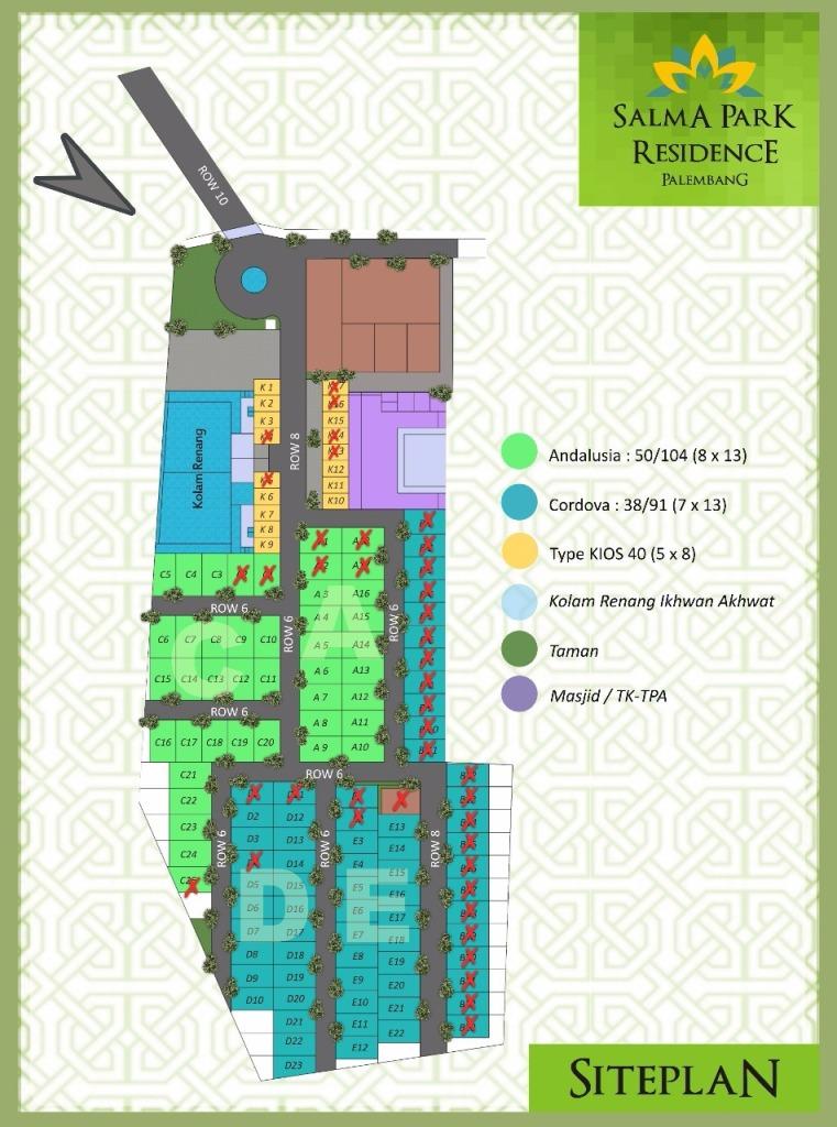 Siteplan Salma Park