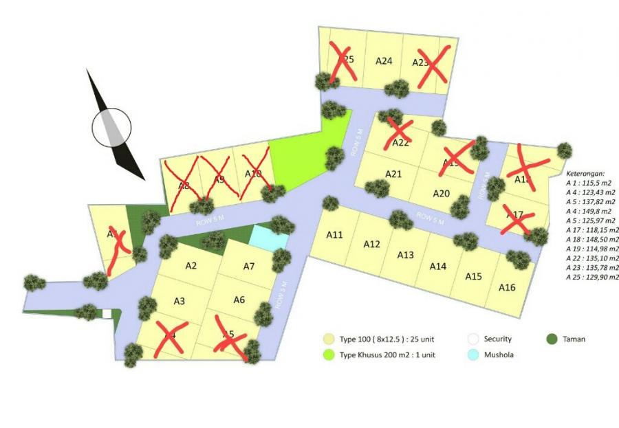 Siteplan Ummi Residence - Update