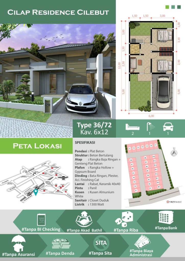 Cilap Residence Cilebut - Promo