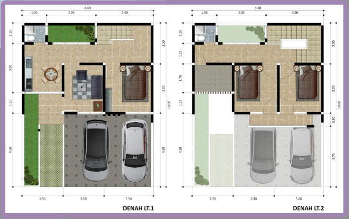 Denah Casa Mabda Residence