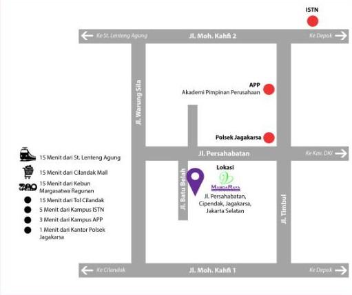 Lokasi Casa Mabda Residence