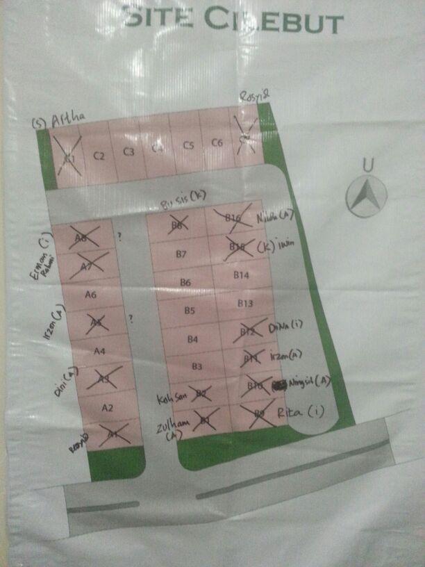 Siteplan Cilap Residence Cilebut