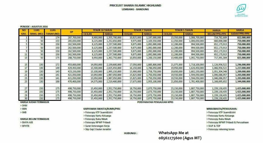 Sharia Islamic Highland Bandung