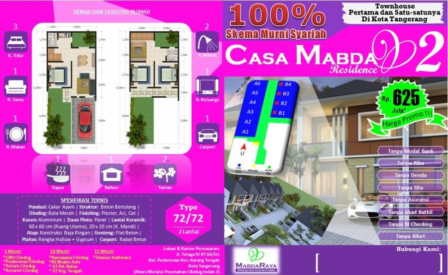 Brosur Casa Mabda 2 - Tangerang