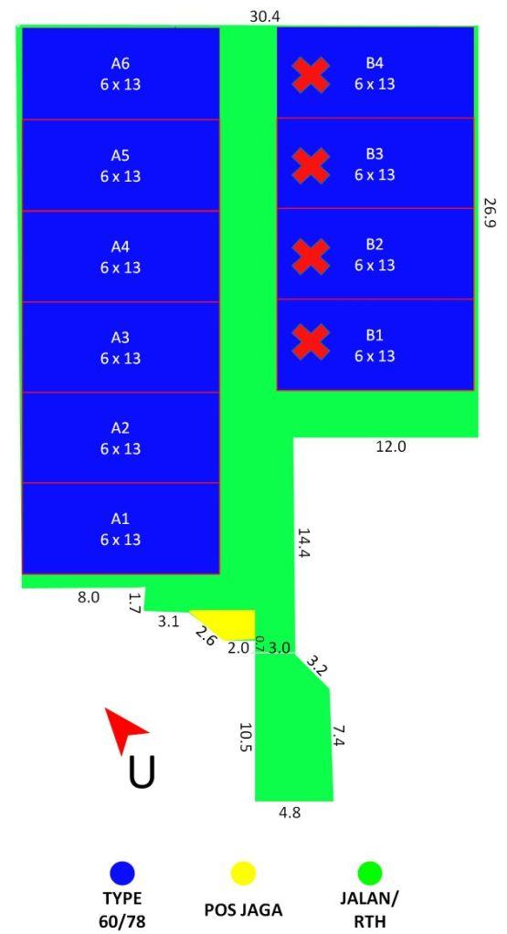 Siteplan Casa Mabda 2 - Tangerang