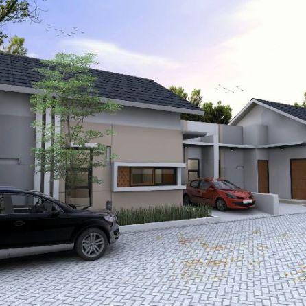 Model Rumah 1 Lantai - Kresyar Residence Cimahpar Bogor