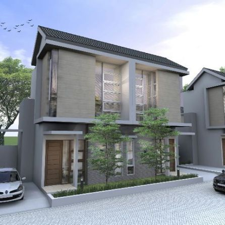 Model Rumah 2 Lantai - Kresyar Residence Cimahpar Bogor