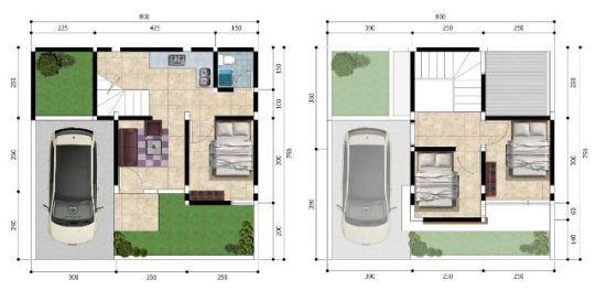 Rumah Tipe 54 - Kresyar Residence Cimahpar Bogor