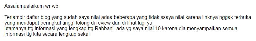 Pesan dari Direktur Rabbani Tour