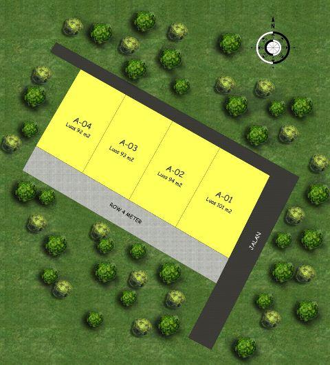 Siteplan Hijrah Village - Sleman Yogyakarta