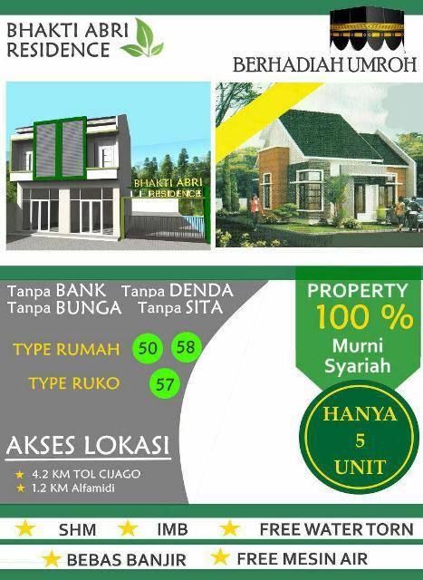 Brosur Bhakti ABRI Residence - Tapos Depok