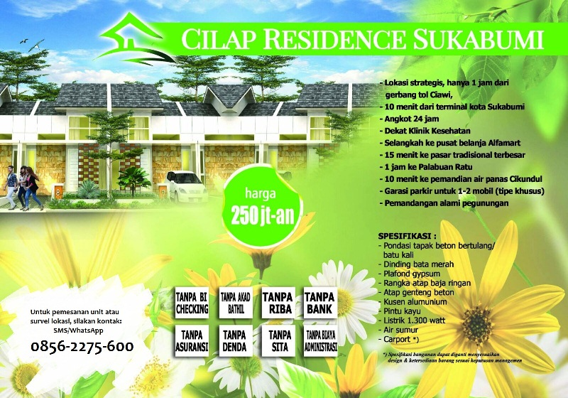 Cilap Residence Sukabumi - Cluster Kamandaka
