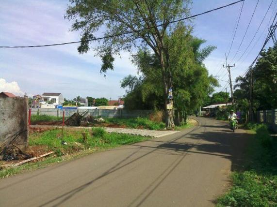 Akses Jln. Bhakti ABRI menuju Bhakti ABRI Residence