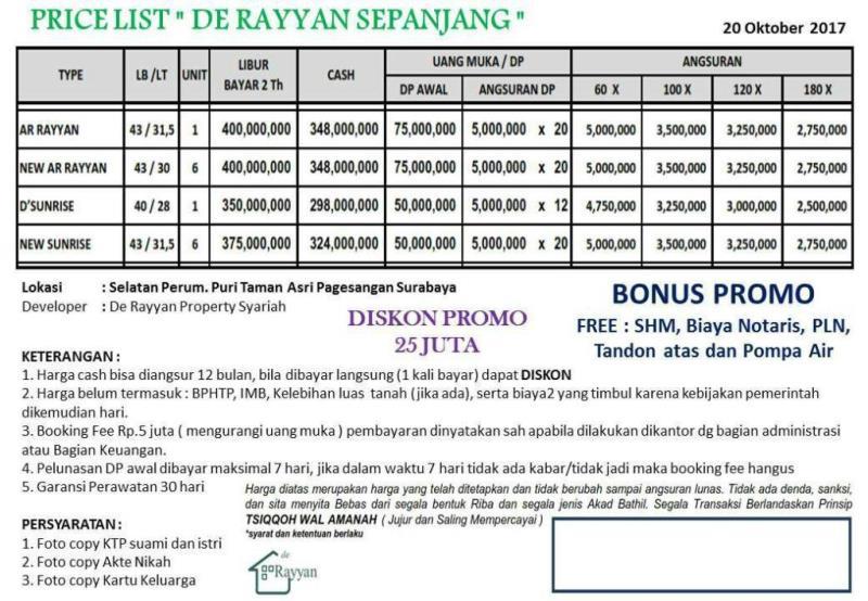 Perumahan Syariah Surabaya