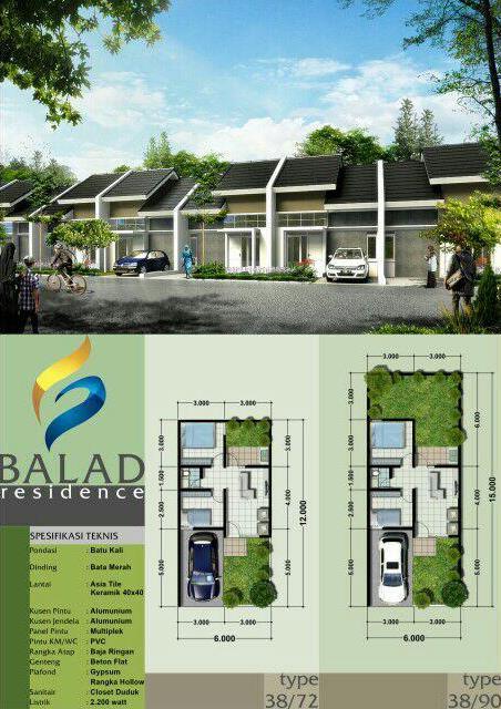 Brosur Balad Residence Bojongsari Depok