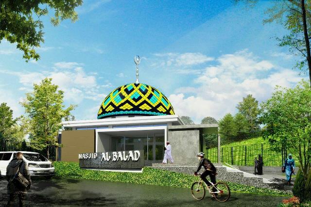 Masjid Balad Residence Bojongsari Depok