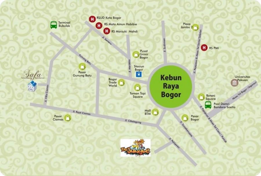 Safa Residence - Lokasi