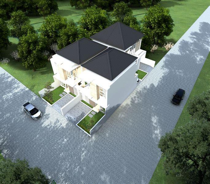 Petukangan Townhouse - Siteplan