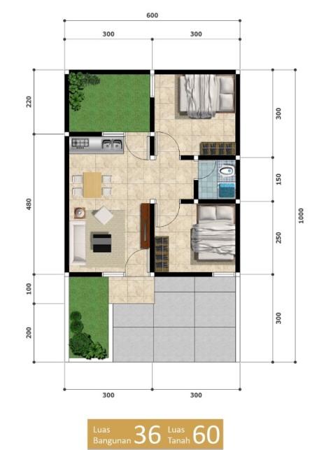 Zhaafira Residence - Denah