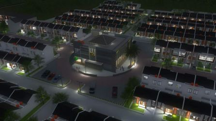 sharia islamic soreang | maket cluster