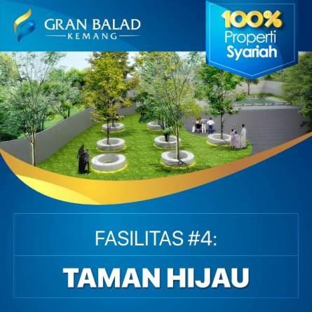fasilitas taman hijau dalam perumahan