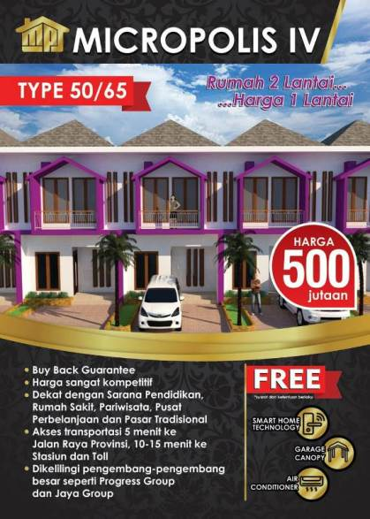 cluster micropolis 4 serpong